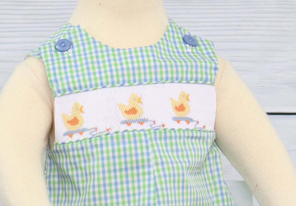 Smocked Baby Boy Clothes