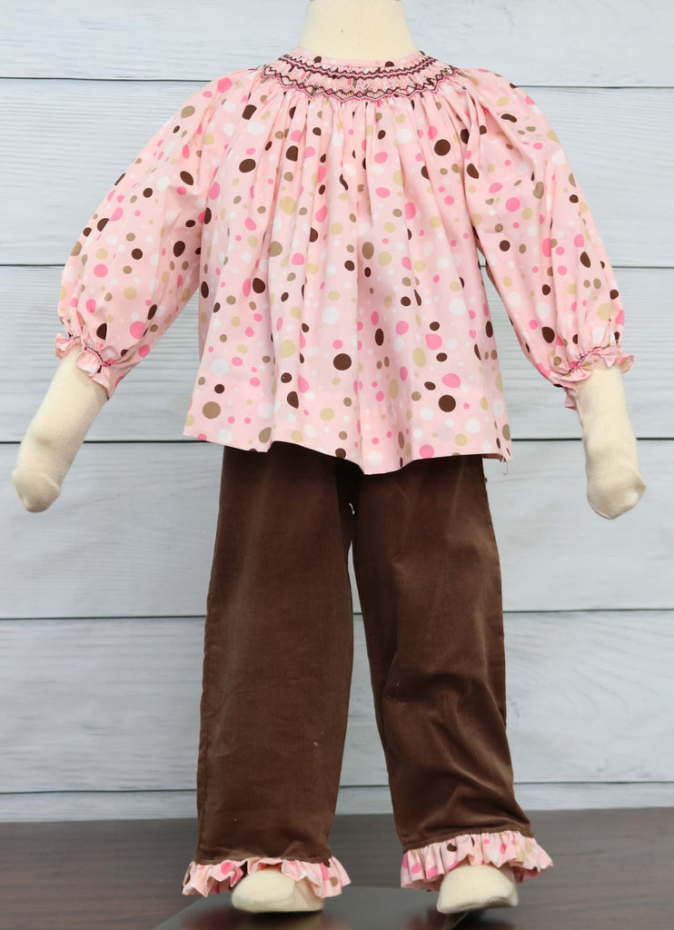 Toddler Girl Ruffle Pants