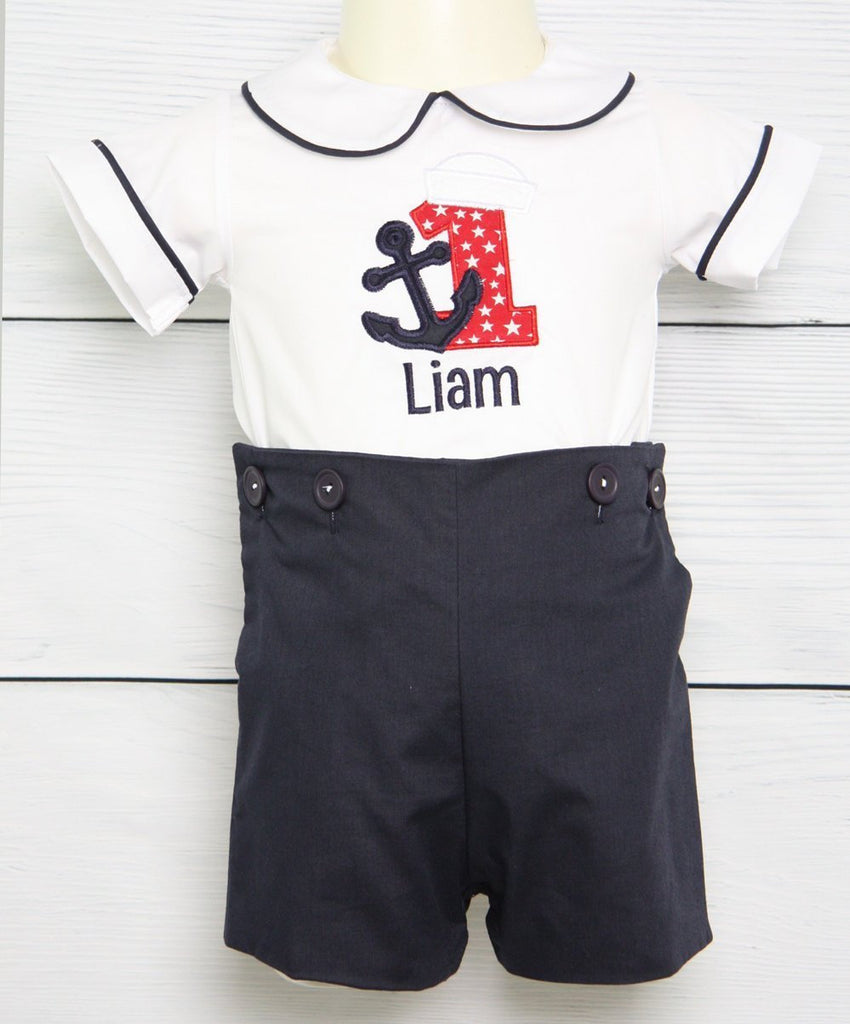 baby Boy sailor outfit