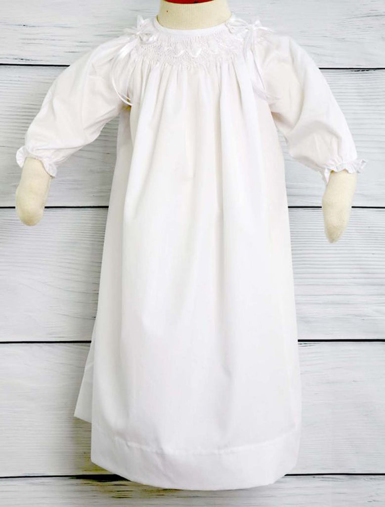 Baby Girl Christening Dress, Smocked Dresses, Zuli Kids