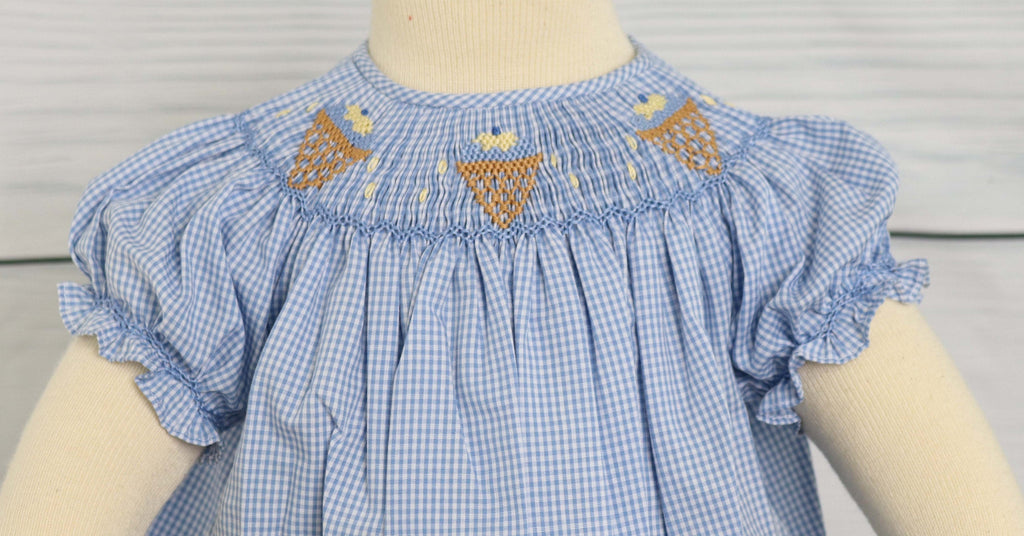 Smocked Childrens Clothing