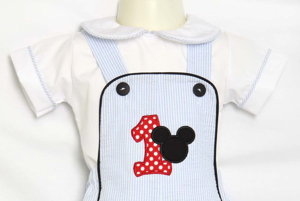 Personalized Mickey Mouse Birthday Outfit
