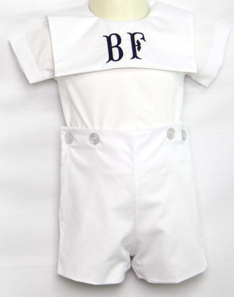 Baby boy white outfits