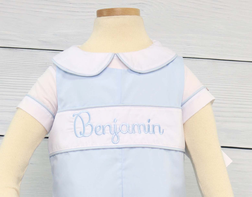personalized baby boy baptism outfit