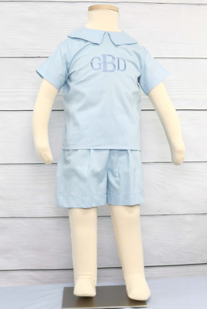 Toddler Boy Baptism Outfit,Toddler Boy Christening Outfit, Zuli Kids292156