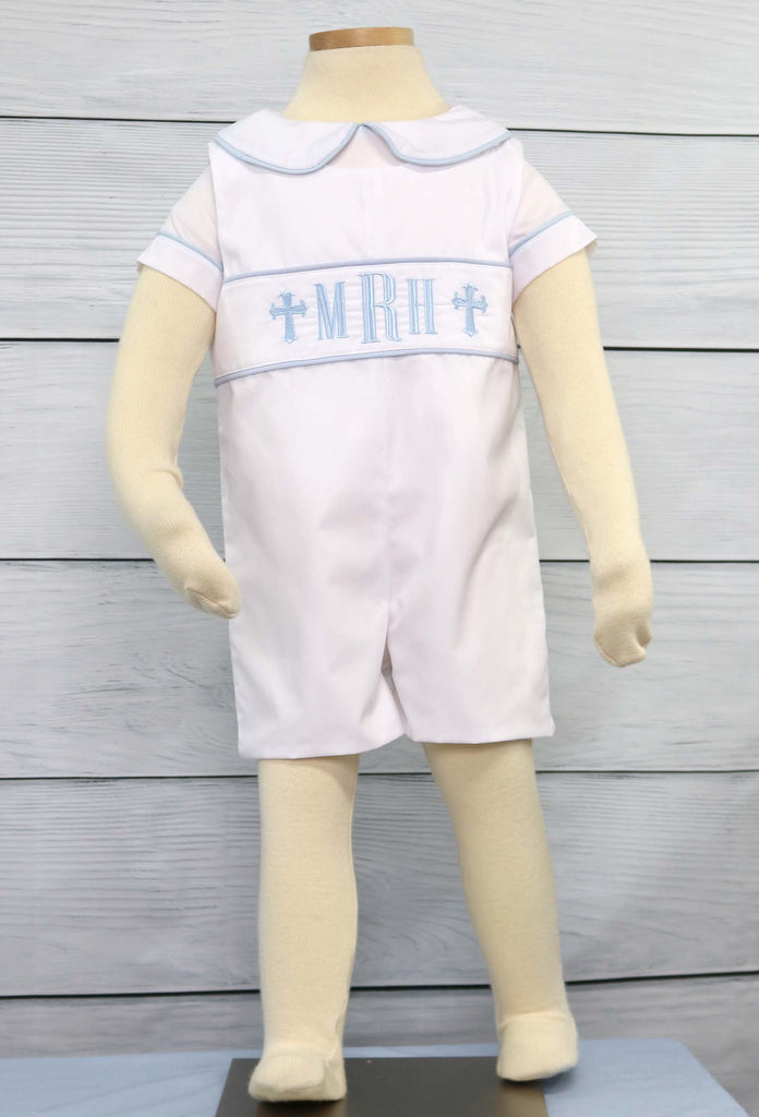 Baby boy dedication outfit