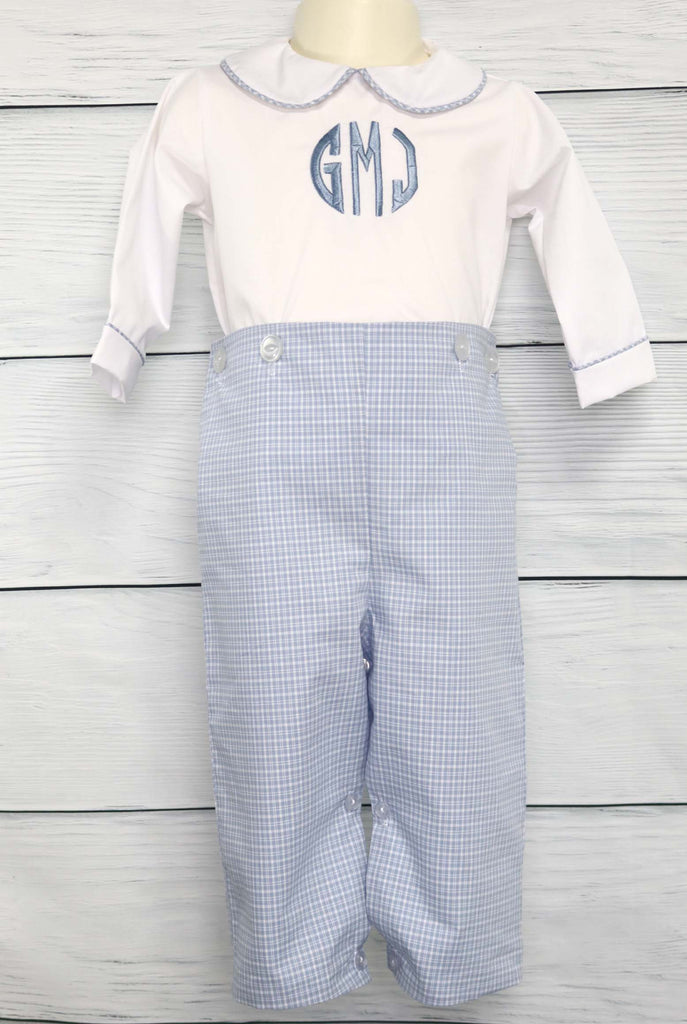 Boy Baptism Outfit