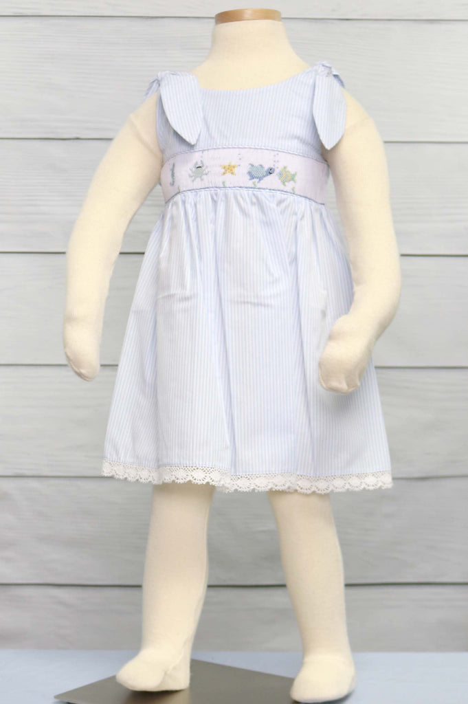 Smocked dresses for toddlers
