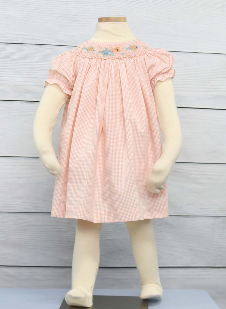Smocked dresses for toddlers, smocked clothing.