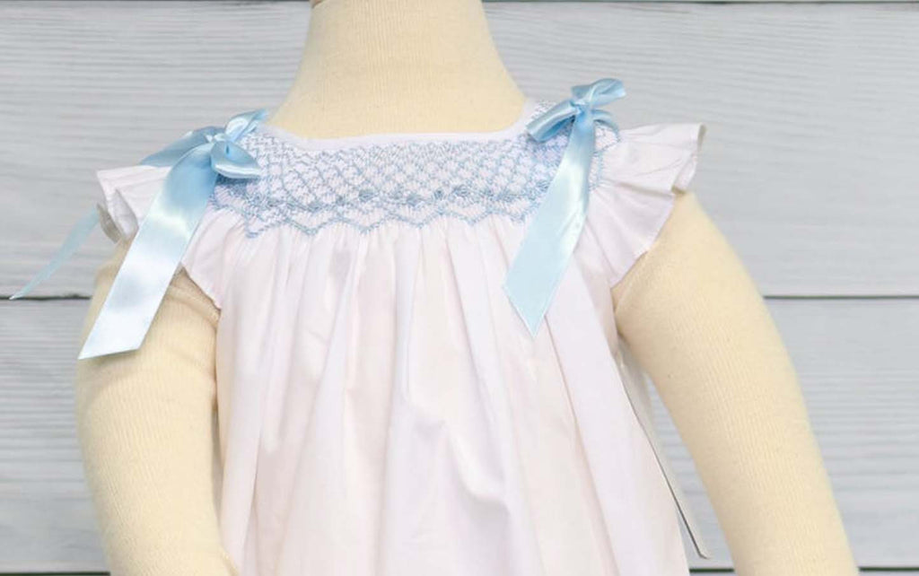 Baby Girl Smocked Bubble, Baby Bubble Suit, Zuli Kids 412613 - CC083