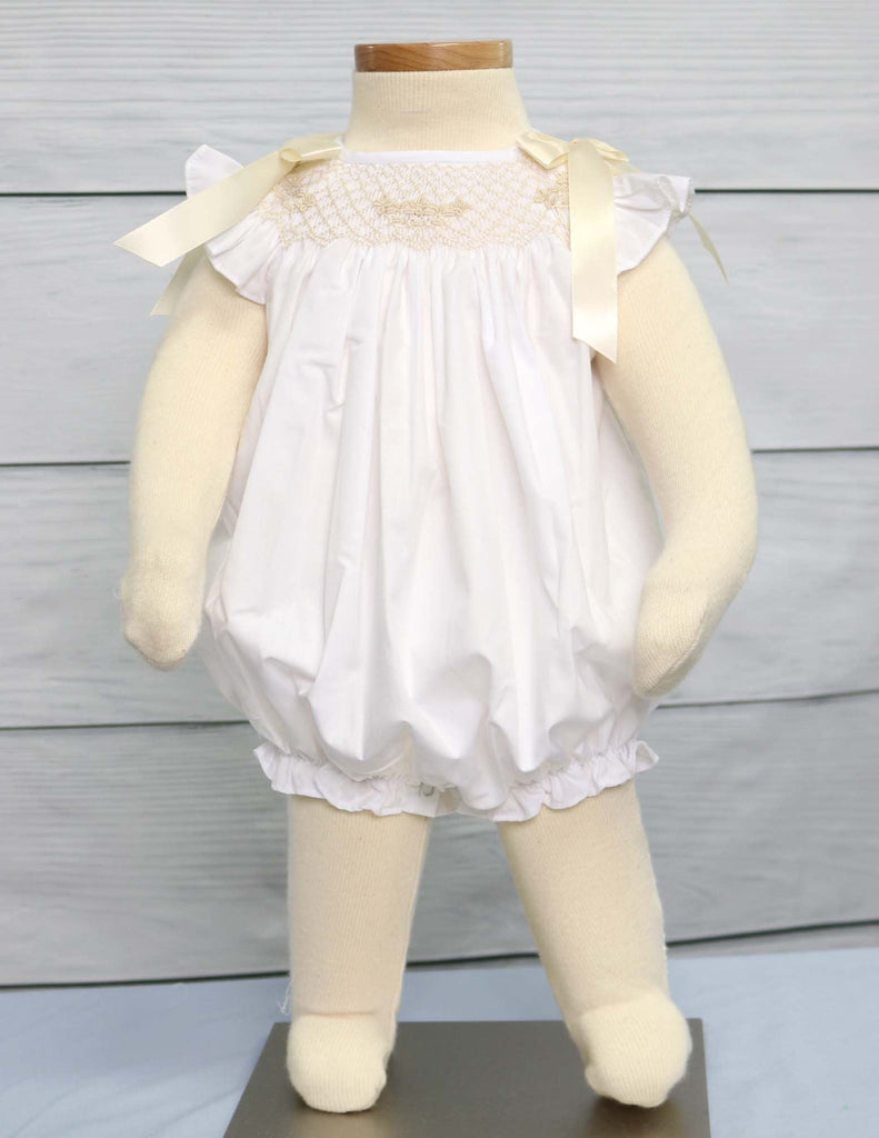 Baby girl baptism outfit