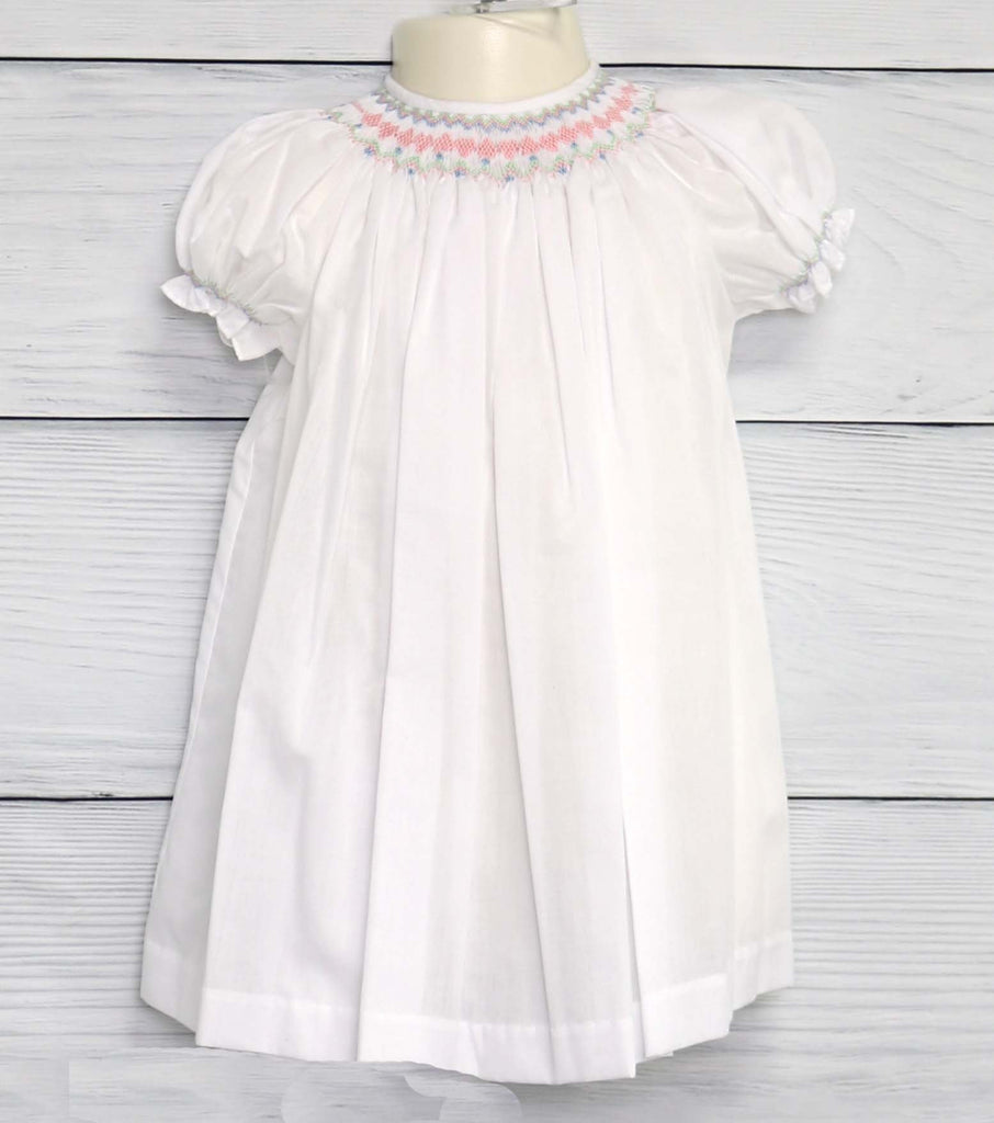 Smocked Dress Baby Girl
