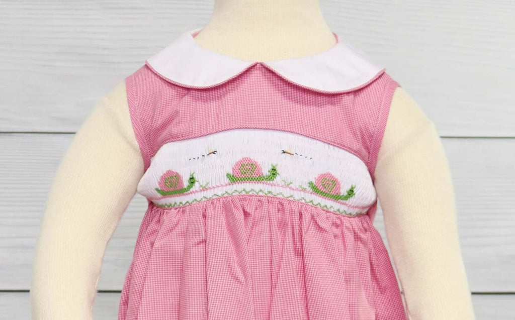 Smocked summer dress, smocked outfits