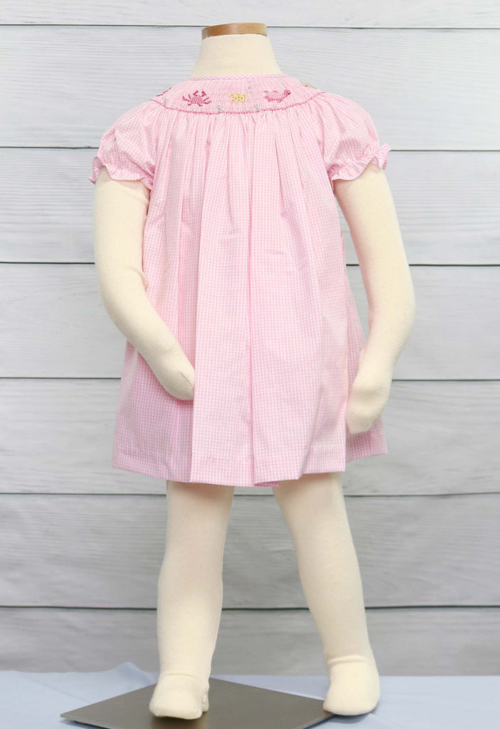 Baby girl smocked dress, Smocked Clothing
