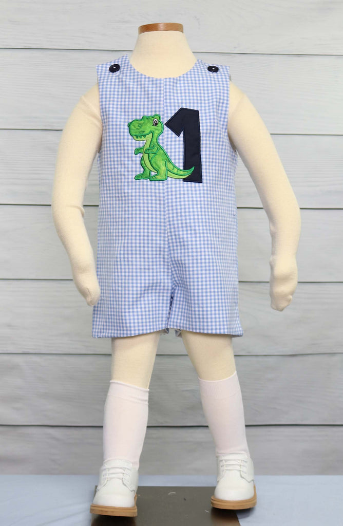 Dinosaur birthday shirt,  Baby Boy 1st Birthday Outfit, Zuli Kids 293250