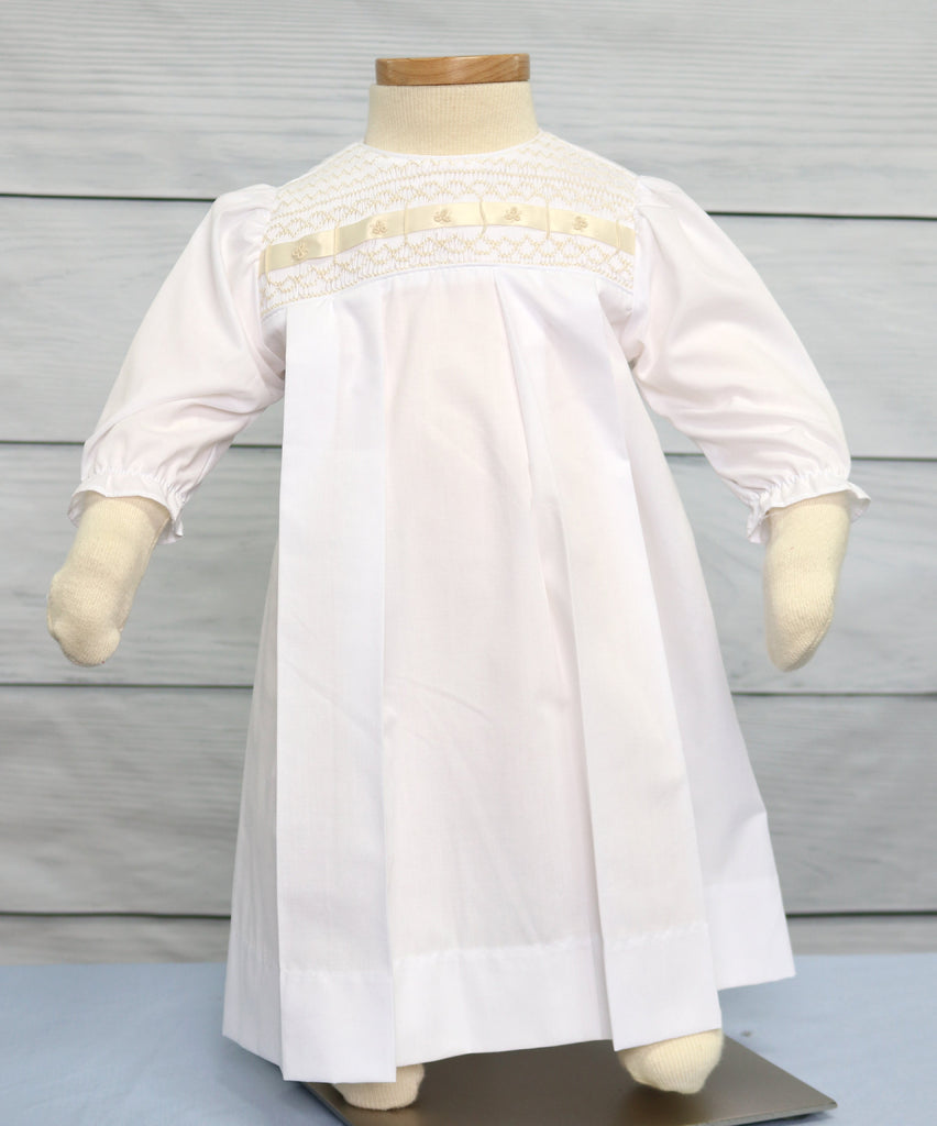 Smocked Christening Gowns