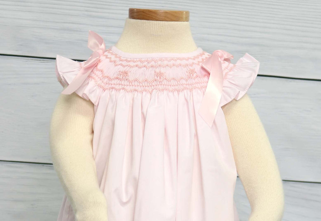 Baby Girl Dress for Wedding, Smocked Dress Baby Girl, Zuli Kids 412618-CC088