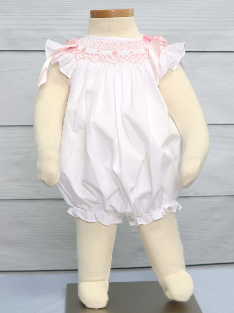 Smocked Baptism Dress