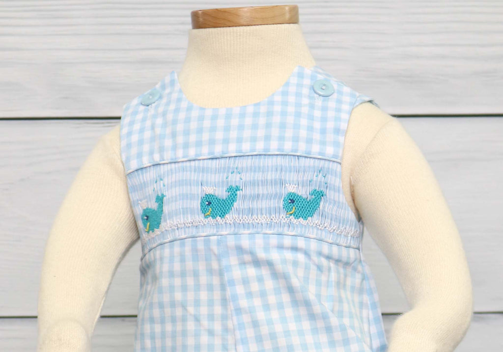 Smocked boy outfits