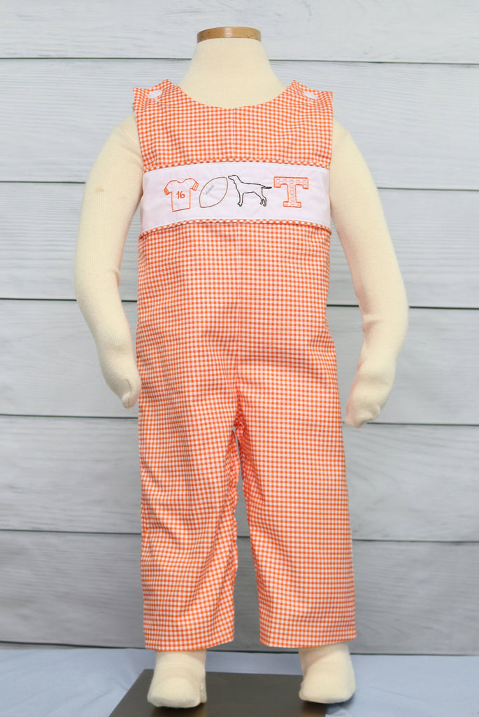 VOLS outfit for a sports baby shower