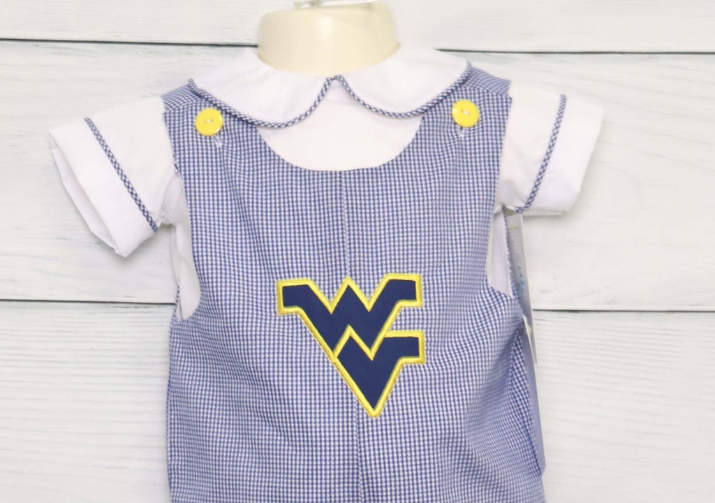 West Virginia Mountaineers outfit for a football party