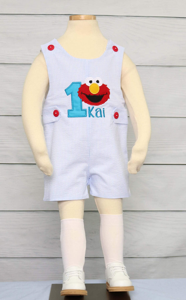 Elmo Birthday Outfit
