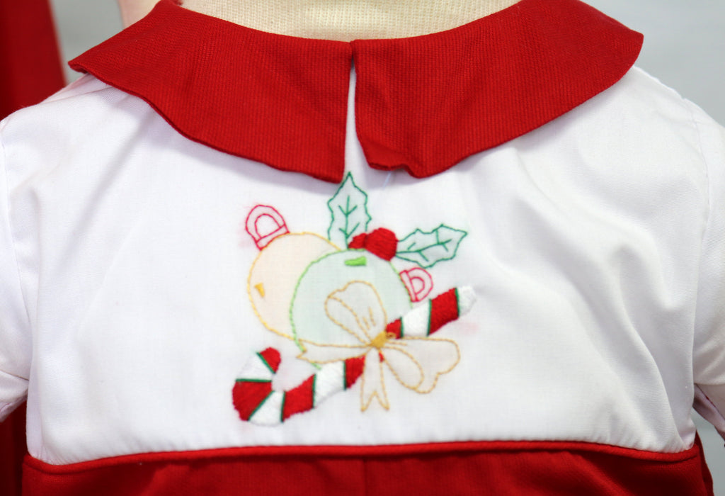 1st Christmas Outfit for newborn infant and toddler boys.