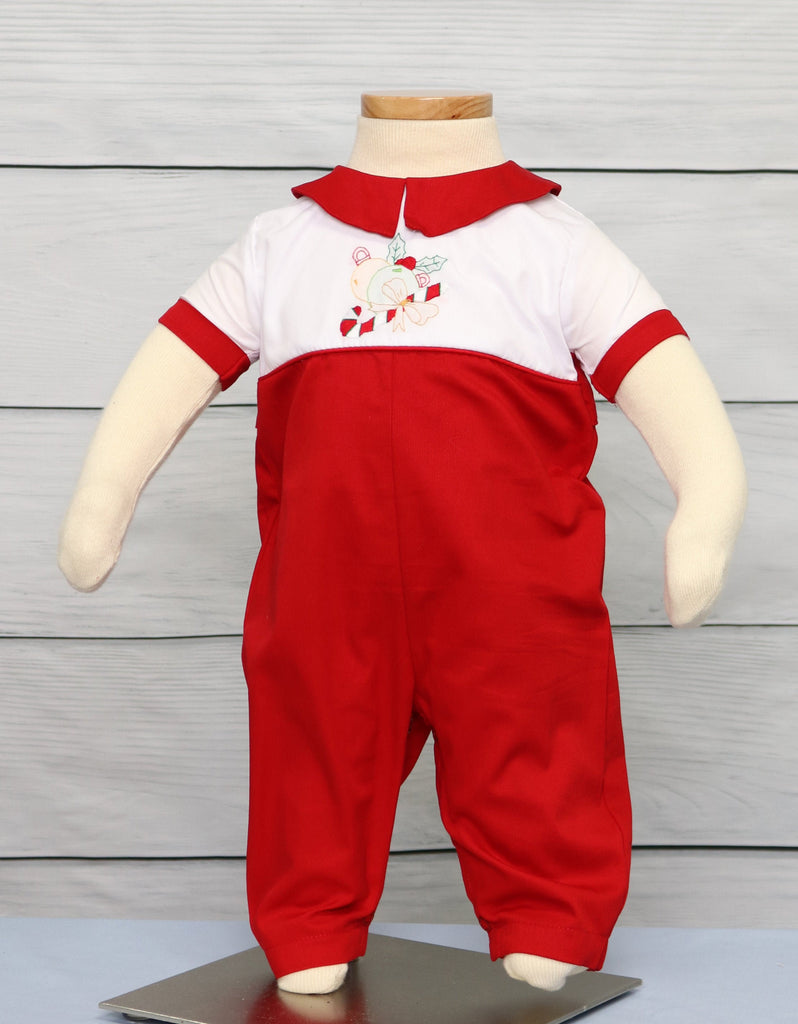 Baby boy Christmas outfit Holiday clothes