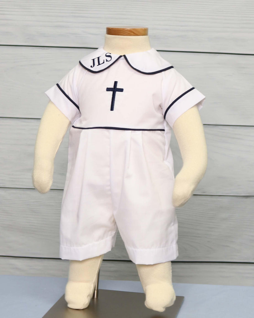 Baby Boy Baptism Outfit Catholic