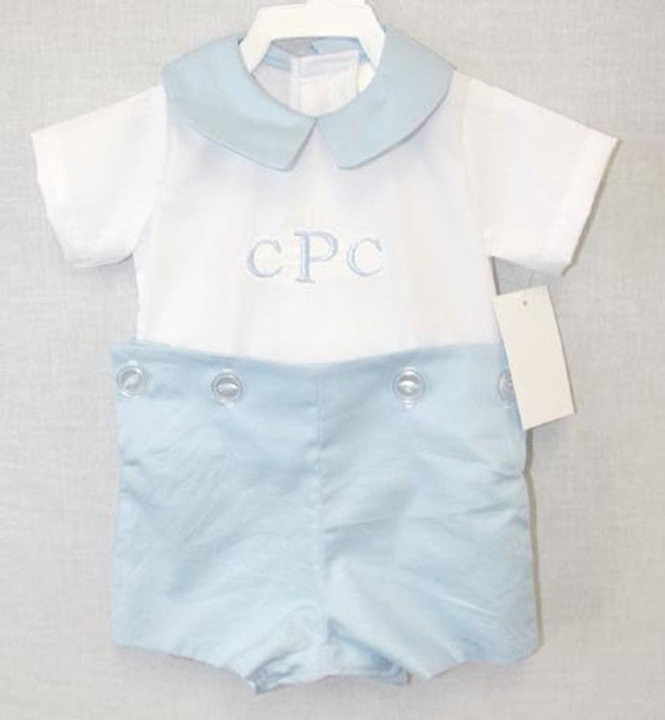 Baby boy ring bearer outfit