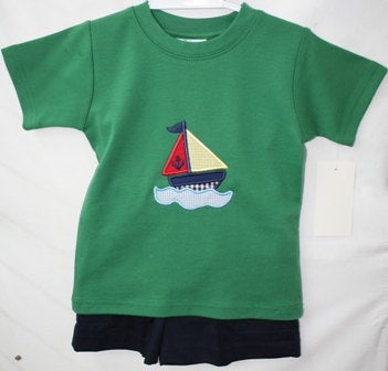 Baby Boy Nautical Outfit