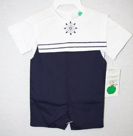 Baby Boy Nautical Clothes