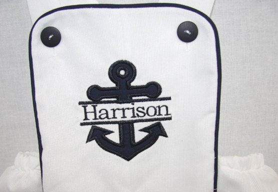Nautical 1st Birthday, Sailor Suit