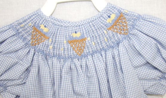Baby Clothes Smocked