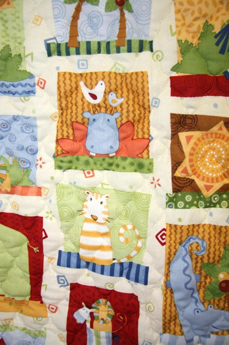Baby Shower Gifts, Baby Shower Gift Ideas, Baby Quilt, Baby Boy Quilt 292090 CC075