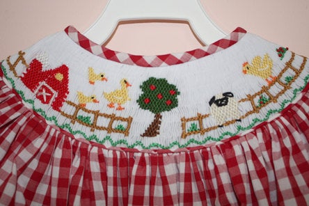 Smocked auction
