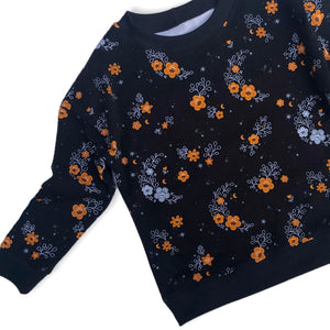 Lounge Sweater - Floral Moon