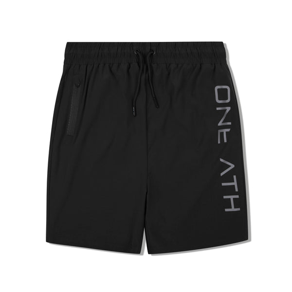 Mtech Run Short - Black