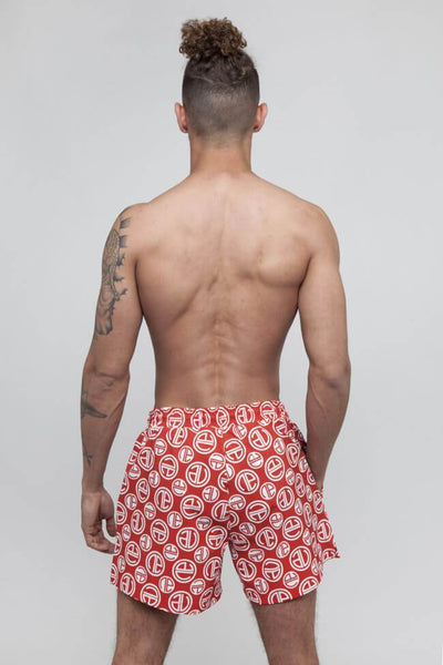 Allen Swim Short - Red