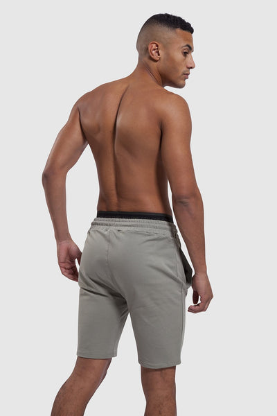 back of Bedford Double Waistband gym Shorts