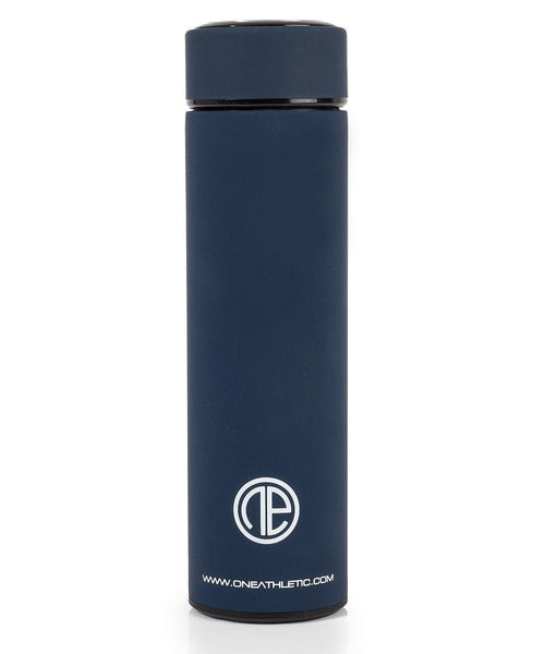 One Athletic Insulated Bottle - Navy/White