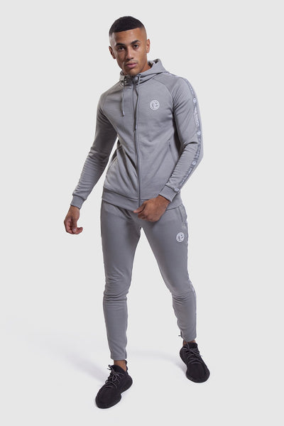 Firestone II tracksuit in grey (mens gym joggers and hoodie)
