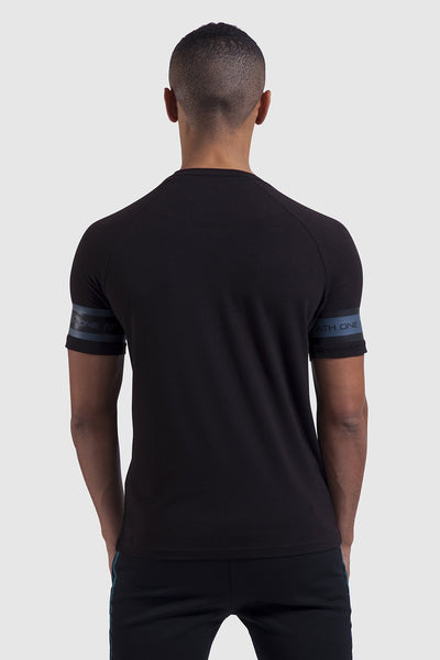 Firestone T-Shirt - Black/Teal