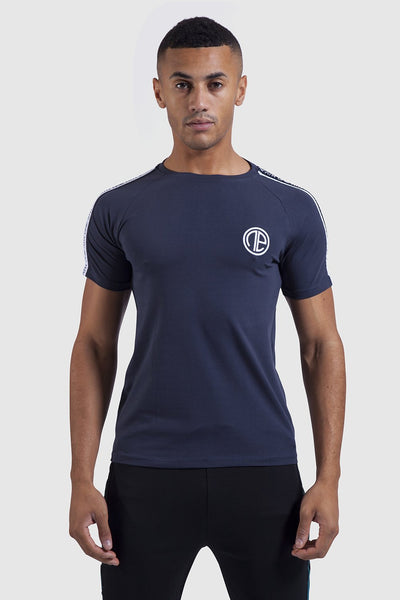 Firestone t-shirt - Navy/White