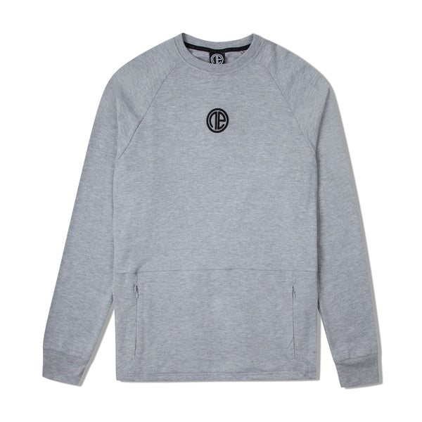 Iverson II Sweater - Grey Marl
