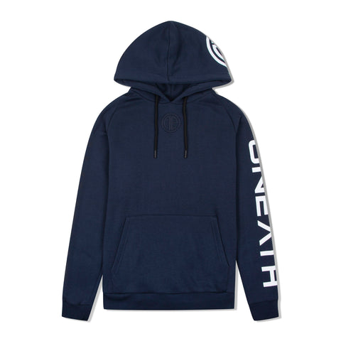 Bentley Hoodie - Navy/White