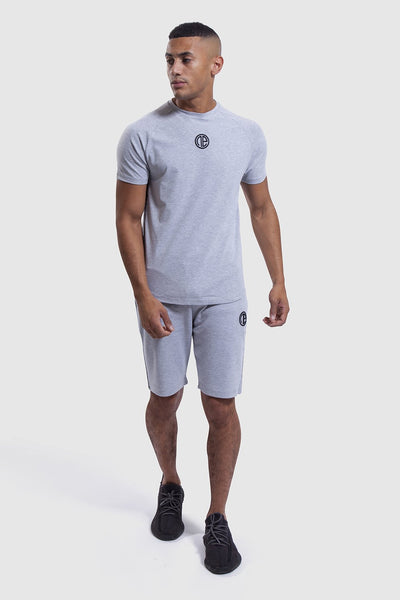 One Athletic training top and shorts in grey