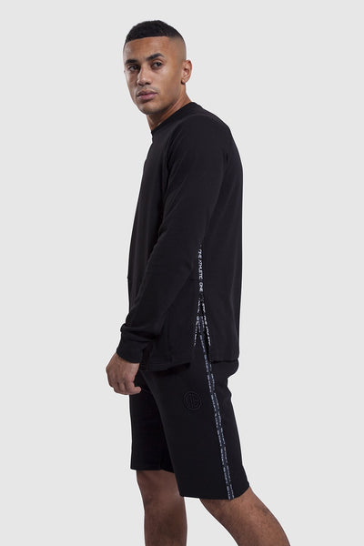 mens gym shorts and top in black - Iverson II