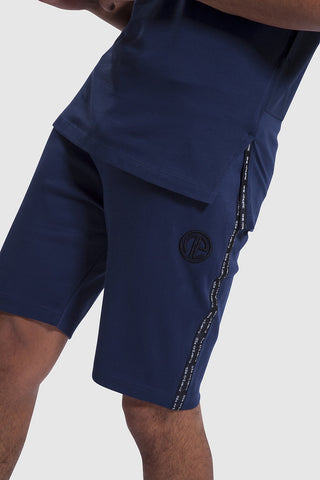 Iverson II navy gym Shorts for men