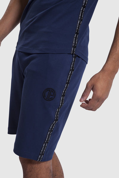side detail of mens gym shorts